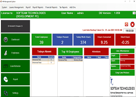 Payroll with Attendance Manage